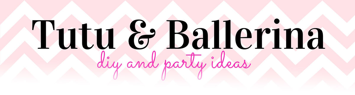 Headline for Ballerina Tutu DIY and Party Ideas