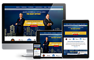 Legal & Law Firm Web Design | Alexander & Catalano (2015)