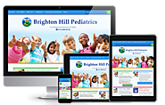 Pediatric Medical Practice Web Design | Brighton Hill Pediatrics (2015)