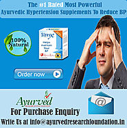 Ayurvedic Hypertension Supplements To Reduce BP By AyurvedResearchFoundation.in