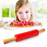 Baking Machine And Accessories: Non-Stick Silicone Rolling Pin