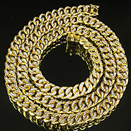Book Icy Cuban Link Men Custom Bling Necklace at Master Of Bling