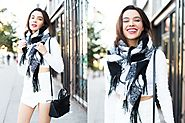 Jazz Your Way In This Winter With Cool Scarf Styles