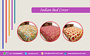 Beautiful and Beguiling Bed covers --from Handicrunch
