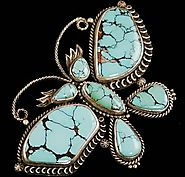 Turquoise Direct is offering jewelry of Liz Wallace