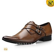 CWMALLS Leather Monk Strap Shoes CW716230