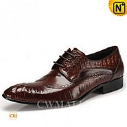 CWMALLS Mens Italian Leather Brogues Shoes CW716226