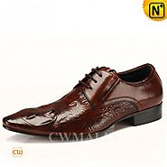 CWMALLS Italian Leather Lace-up Shoes CW716225