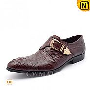 CWMALLS Embossed Leather Dress Shoes CW716208