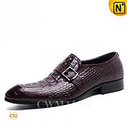 CWMALLS Embossed Italian Leather Shoes CW716204