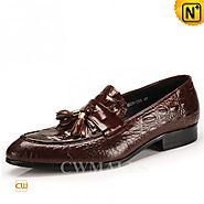 CWMALLS Mens Tassel Leather Penny Shoes CW716211