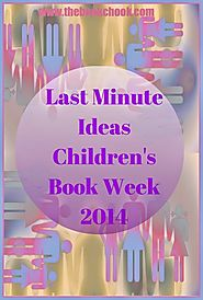 Last Minute Ideas for Children's Book Week 2014