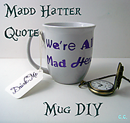 Tutorial Tuesday: Mad Hatter Coffee Mug