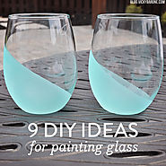 9 DIY Ideas for Painting Glass - Vicky Barone
