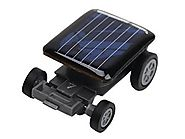 Lot 5 pcs Smallest Mini Solar Power Robot Toy Car Auto for Children Kids Funny