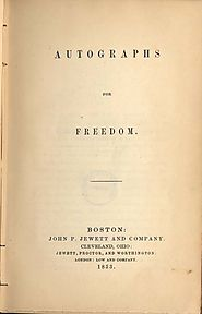 Frederick Douglass, 1818-1895. The Heroic Slave. From Autographs for Freedom, Ed. Julia Griffiths