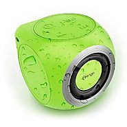 Mengo AquaCube, Waterproof Speaker [3W Ultra Clear Sound] Waterproof Portable Bluetooth (4.1) Speaker - Green - Retai...