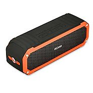 PECHAM C26 Waterproof Bluetooth Speakers Dual 5W Drivers Speaker 10 Hour Playtime, Outdoor Portable Speakers with Fla...
