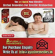 Ayurvedic Remedies For Erectile Dysfunction, Herbal ED Supplements