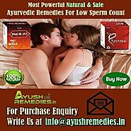 Ayurvedic Remedies For Low Sperm Count Problem In Males