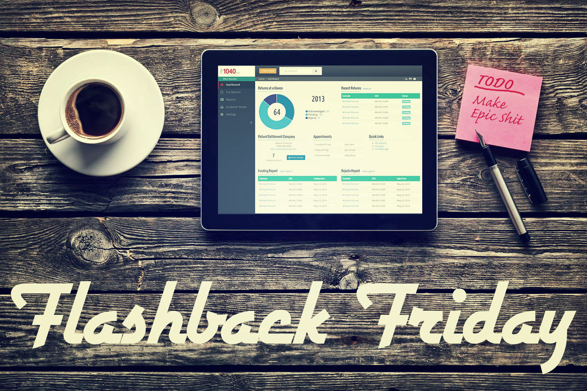 Headline for Flashback Friday: Best Articles in UX, Design & Ecommerce This Week (April 18-22)
