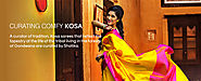 Designer Kosa Silk Sarees for Online Shopping