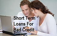 Short Term Loans For Bad Credit Great Scheme And Fast Approval