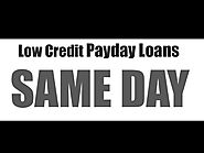 Payday Loans For Low Credit People In Canada Same Day Approval