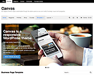 Canvas - A WordPress theme with complete style control