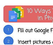 10 Ways to Use Google Docs in Physical Education - Teacher Tech