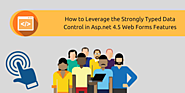 How To Leverage The Strongly Typed Data Control In Asp.net 4.5 Web Forms Features