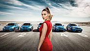 Try Keeping Your Eyes on Gigi Hadid in This Whiplash-Inducing 360° Experience From BMW