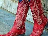 Women's Red Cowboy Boots 2016
