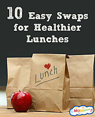 10 Easy Ideas to make school lunches healthier