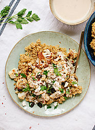 Roasted Cauliflower, Freekeh and Tahini - Cookie and Kate