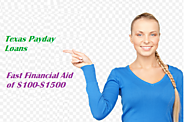 Texas Payday Loans Get Short Term Finances On an Instant Basis