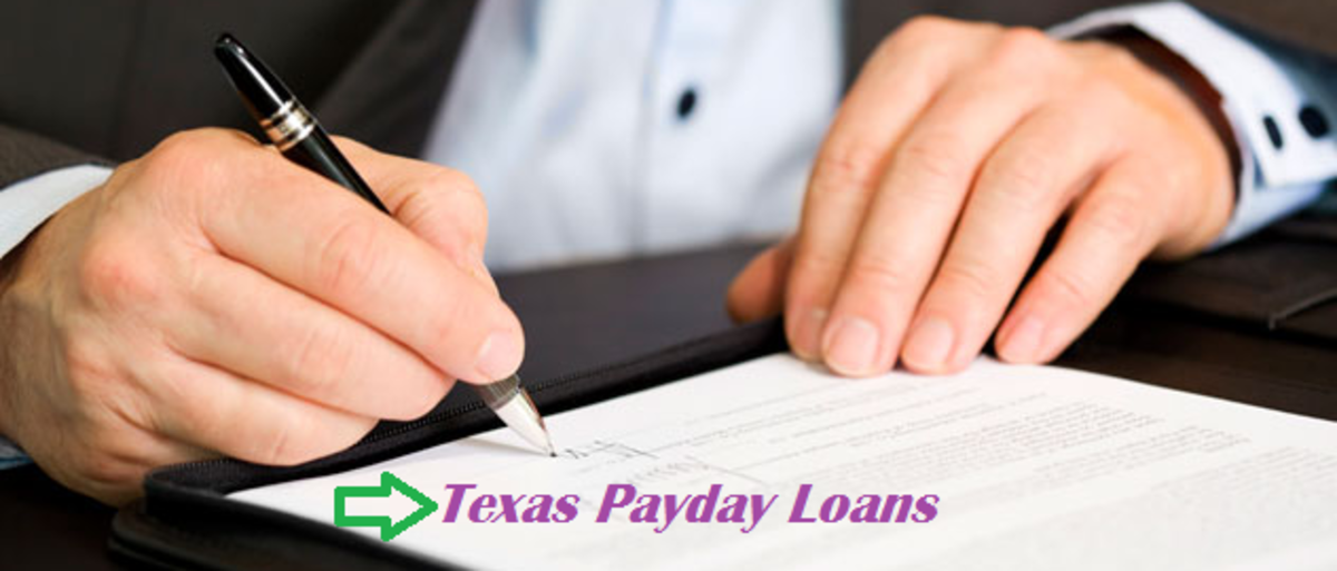 Headline for Texas Payday Loans