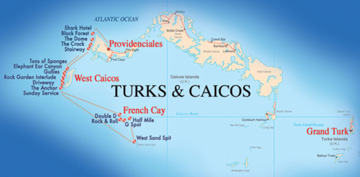 Headline for The Best of Turks and Caicos Diving Sites – dive deep