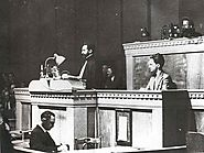 """Appeal to the League of Nations"" A speech by Haile Selassie, given in Geneva, Switzerland, 1936"