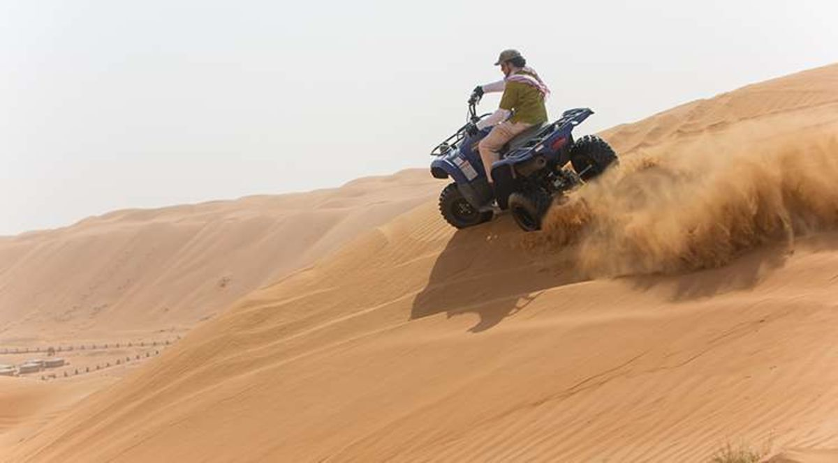 Headline for 05 Best Desert Activities to do in Oman – Exotic Middle Eastern Fun