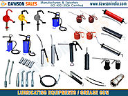 lubricating equipments grease gun components