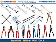 spanners pliers hand tools