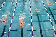 Swimming - sport that develops all the major muscle groups