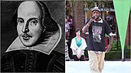 What it is like 'To be' a Shakespearean rapper