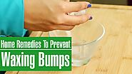 3 Home Remedies To Prevent BUMPS AND PIMPLES AFTER WAXING