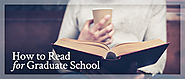 How to Read for Grad School - Inquiries Journal