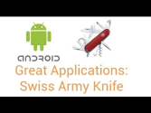Swiss Army Knife - Android Apps on Google Play