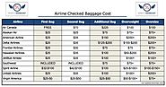 Real Cost of Airlines Baggage Shipping in USA | Golfovernight