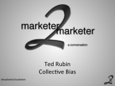 """a conversation"" with Ted Rubin"
