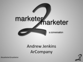"""a conversation"" with Andrew Jenkins"